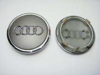 4pcs 68mm Alloy Wheel Center Caps Hub for Audi A3 A4 A6 A8 S6 RS4 RS6 TT s Line