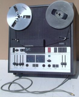 Tandberg Reel to Reel Tape Deck  Maybe Model 10x 4 Norway Vintage