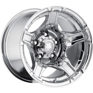 15x10 Chrome Ultra Drifter 194 Wheels 5x4 5 44 Lifted Ford Ranger Explorer