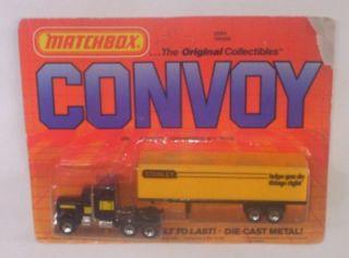 Matchbox Convoy Kenworth Semi Truck N Trailer Stanley