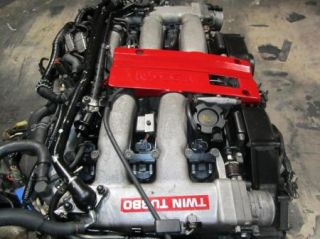 90 95 Nissan 300zx Twin Turbo Engine 5 Speed Transmission JDM VG30DETT