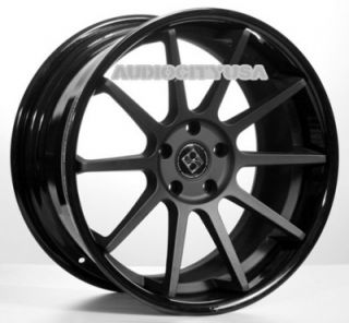 "22"" Giovanna Lindos Black for BMW Wheels and Tires Rims 5 6 7 Series 645 650"