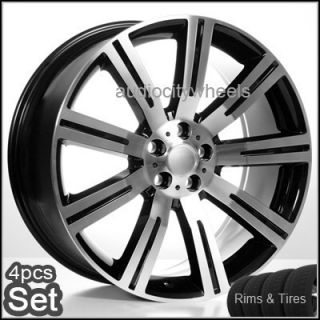 "22"" Wheels and Tires for Land Range Rover HSE Sport Rims"