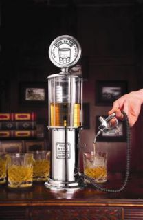 "Gas Pump Liquor Dispenser New ""Fuel Pump"" Bar Collectible"