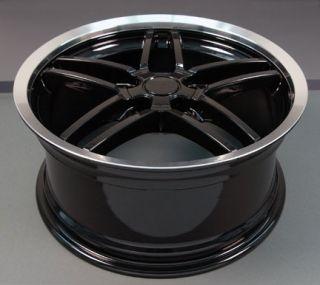 "17"" Rims Fit Camaro Corvette C6 Z06 Deep Dish Wheels"