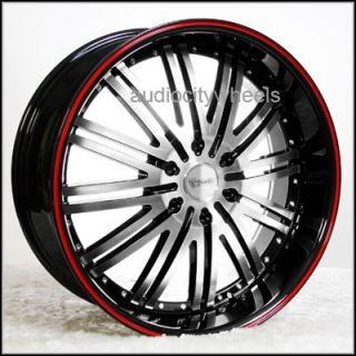 """24inch Wheels Rims Tahoe Yukon Escalade Chevy Almada Silverado Wheel Rim 6"""" Lip"""