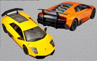 Lamborghini Murcielago LP670 4 SV RH2015 RC Radio Remote Control Car 1 14 Orange