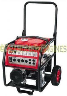 Powerboss 6000 Watt Industrial Generator 11 HP Honda GX340 Engine 30488