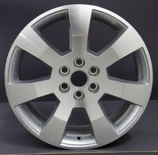 "18"" Machined Silver Cadillac SRX Wheels Set of 4 Rims 4607"