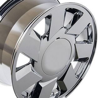 "17"" Rims Fit Cadillac DTS Wheels Chrome 17x7 5 Set"