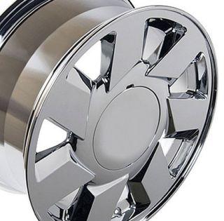 "17"" Rims Fit Cadillac DTS Wheels Chrome 17x7 5 Set"
