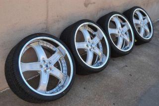 "22"" asanti AF 165 Multipiece Brushed Staggered Wheels Rims Mercedes Tires"