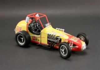 New GMP 1 18 Scale Dirt Track Champ Model Collectible