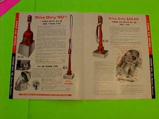 Great Old 1930's Arno Air Meter Art Deco Filling Station Catalog No Reserve