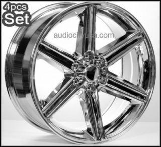 """20"""" 6LUG IROC Wheels Rims Escalade Chevy Ford Infiniti H3 Silverado Yukon"""