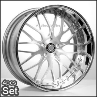 22 3pc Forged AC313 Satin for Mercedes Benz Wheels Rims S550 Ml