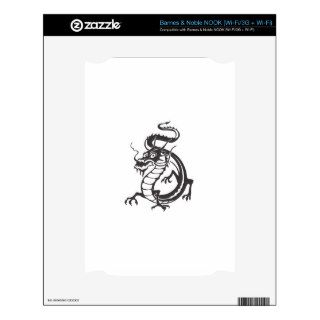 Dragon Serpent Tattoo Fantasy Fiction Drawing Art NOOK Skin