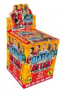 Topps Match Attax Bundesliga 2010/2011 Display: Spielzeug