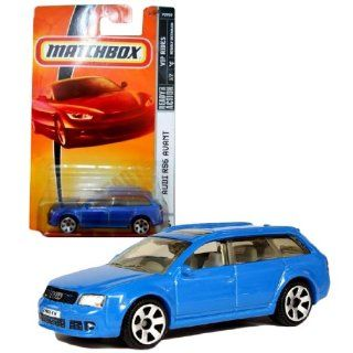 Matchbox Year 2007 MBX VIP Luxury Series 164 Scale Die Cast Metal Car # 36   Light Blue Station Wagon Audi RS6 Avant Toys & Games