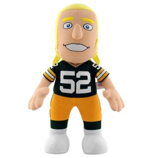 Green Bay Packers Clay Matthews 14 inch Plush Doll Collectible Dolls