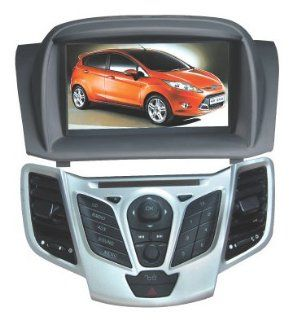 Chilin 2010 2011 Ford Fiesta DVD Player Car Radio Audio GPS Navigation System, Support Bluetooth, Radio, Iphone/ipod Controls, steering wheel control : Vehicle Dvd Players : MP3 Players & Accessories
