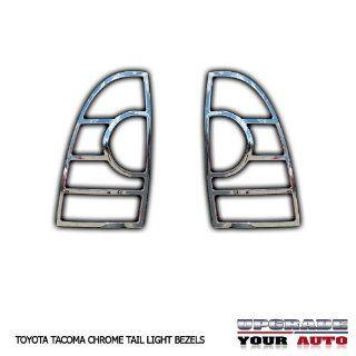 2005 2013 Toyota Tacoma Chrome Tail Light Bezels Automotive