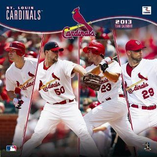 Perfect Timing   Turner 2013 St Louis Cardinals Mini Wall Calendar  (8040285): Office Products