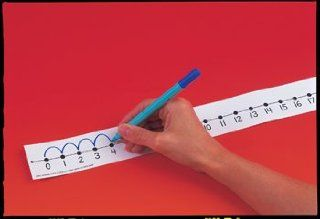 * NUMBER LINE STUDENT W/O 12/PK   Early Childhood Development Products