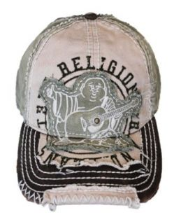 New True Religion Unisex Buddha Distressed Grass Trucket Hat Cap TR#1101 at  Men�s Clothing store