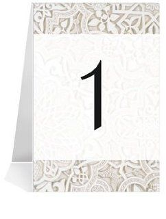 Wedding Table Number Cards   India Rangoli Eternal II #1 Thru #15: Office Products
