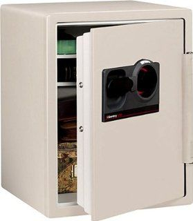 Sentry 2.0 Cu. Ft. Fire Safe with 3 Number Combination Lock (Light Grey): Office Products