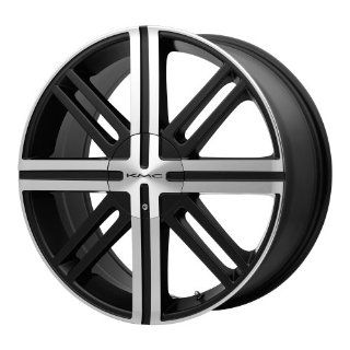 "KMC Wheels KM675 Wheel with Satin Black Machined (18x7""/4x100mm): Automotive"