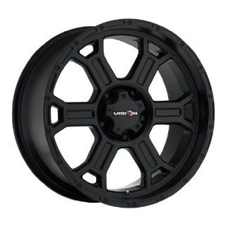 20 inch 20x9.5 Vision Off Road Raptor Matte Black wheel rim; 6x5.5 6x139.7 bolt pattern with a  12 offset. Part Number 372 2983MB 12 Automotive