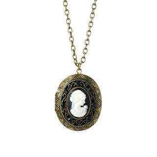 Forbidden Affair Cameo necklace, 1 pc   Anna Sui