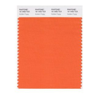 PANTONE SMART 16 1462X Color Swatch Card, Golden Poppy   House Paint