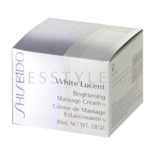 White Lucent Brightening Massage Cream N, 80ml/2.8oz   Shiseido