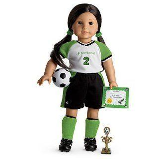 American Girl Soccer Star Set for Dolls (My American Girl / Just Like You / American Girl of Today) Toys & Games
