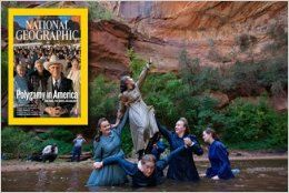 National Geographic Magazine (February 2010   Cover: Polygamy in America, Volume 217 / Number 2): Scott Anderson, Edward O. Wilson, Verlyn Klinkenborg, Joshua Foer, John Lancaster, Chris Carroll, Chris Johns, Stephanie Sinclair: Books