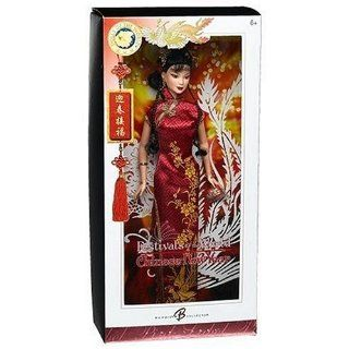 Barbie Collector Dolls Of The World Festivals Of The World Chinese New Year Barbie Doll Toys & Games