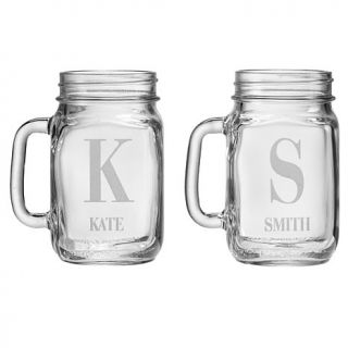Personal Creations Set of 2 Mason Jars