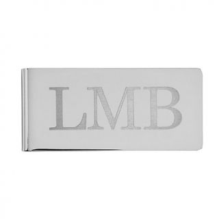 Personal Creations Chrome Money Clip