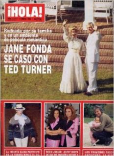 Hola! Magazine Number 2474, Jane Fonda, Ted Turner, Dirk Benedict, Faye Dunaway, Kelly LeBrock, Steven Segal, Sophia Loren, Nicole Kidman, Single Issue Magazine, Jan 9, 1992 (Hola! Magazine, Number 2474): Antonio Sanchez Gomez: Books