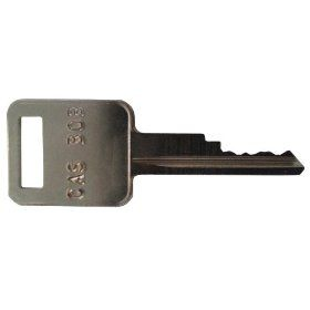Ignition key for Bobcat, Broce, Ditch Witch, Genie, Grove, Ingersoll Rand, JLG, Pollock, Tenant, Terex, Timberjack, Vermeer, Volvo, Part Number D250 Industrial & Scientific