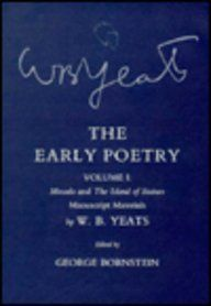 The Early Poetry: Manuscript Materials (Mosada and the Island of Statues) (9780801418556): W. B. Yeats, George Bornstein: Books
