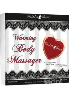 Classic Erotica Hearts Desire Warming Body Massager: Health & Personal Care