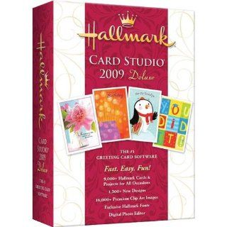 NOVA Hallmark Card Studio 2009 Deluxe: Software