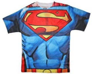 Boys Custom Graphic Costume Tee   Superman: Clothing