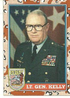 Desert Storm Lt. Gen. Kelly Card # 160: Everything Else