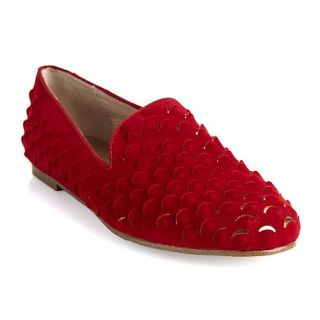 """Mombi"" Red Scaled Loafer"