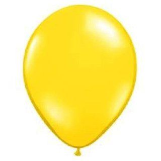 12 YELLOW LATEX BALLOONS birthday party supplies decorations wedding baby shower: Everything Else